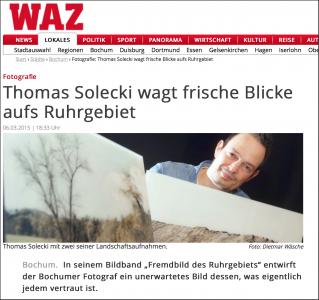 Screenshot WAZ Fremdbild des Ruhrgebiets